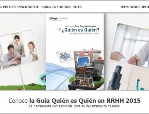 1.066 empresas y 1.350 profesionales inscritos en la Guía Quién es quién en RRHH 2015